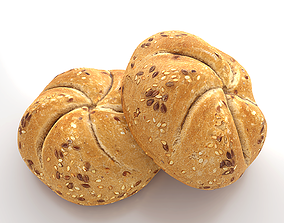 Photorealistic Buns 3D model
