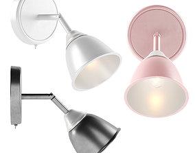 Modern wall lamp light 3D
