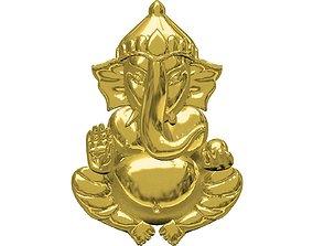 Ganeshji Pendent Gold 3D printable model