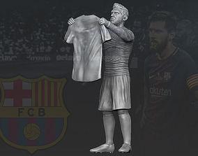 Lionel Messi 3D printing ready stl obj formats 3D print