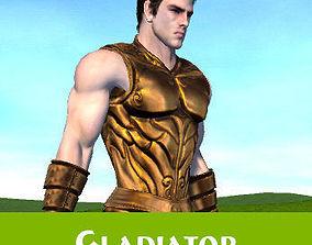 3D asset Fantasy Galdiator