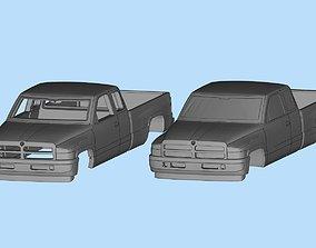 STL Printables dodge ram 1500 2nd gen scale 64 3dmodel