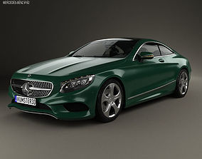 Mercedes-Benz S-Class C217 coupe 2014 3D model