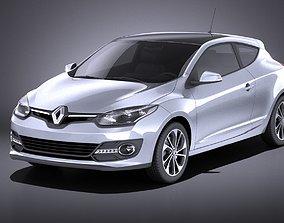 Renault Megane 3door 2016 VRAY