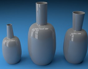 3D model Ceramic vases 3