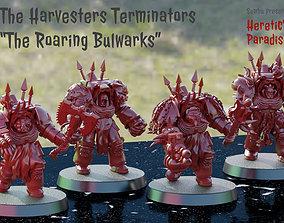 The Harvesters - Roaring Bulwark - Bruins 3D print model 2