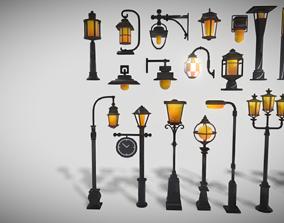 3D model Lamp Colection