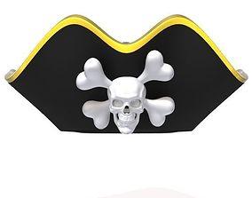 3D model Pirate hat