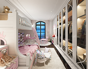 TH Bedroom for Girl 3D model