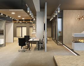 3D model Showroom Interior Scene 03