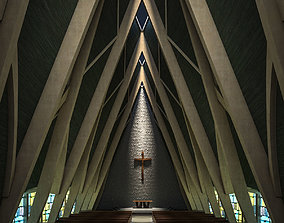 Church Interior 3D model