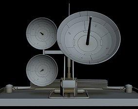 Sci-fi Radar 9 3D