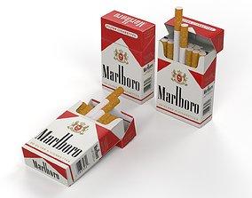 3D Marlboro cigarettes pack
