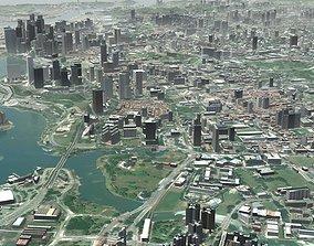 ocean 3D Singapore City Port