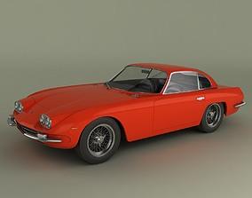 Lamborghini 400GT coupe 2plus2 3D