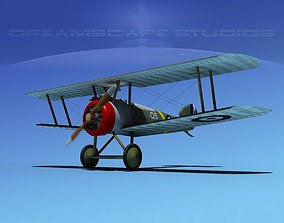 Sopwith Camel 3D rigged