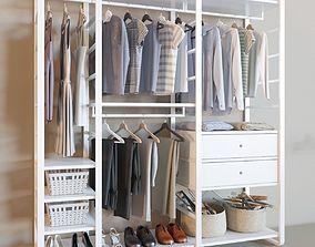 Elvarli collection wardrobe corona 3D model