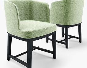 Chair ELSA by Mood by Flexform 3D model