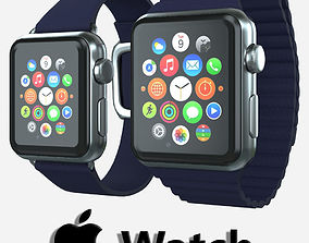 3D model Apple Watch Magnetic Closure v1