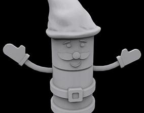 3D print model Santa toy
