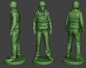 3D printable model US Navy Sailor ww2 Stand USN1