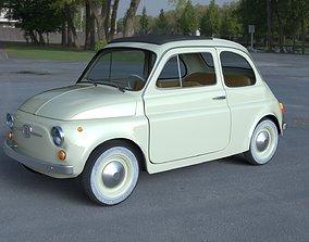 Fiat 500D Nuova 1960 with interior HDRI 3D
