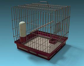 Bird cage 3D asset realtime