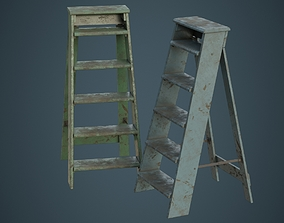 Step Ladder 3B 3D model