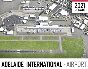 3D asset Adelaide Airport