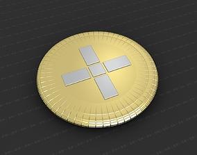 Cross Medallion 3D printable model catholic