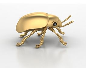 Beetle gem eyes pendant 3D print model