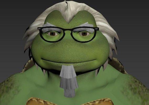 Grandpa Ninja Turtle
