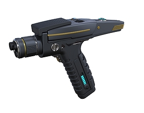 3D printable model Phaser pistol 2 from Star Trek