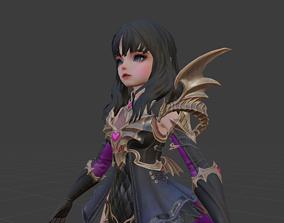 Angela Character 3D asset