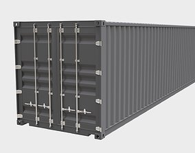 Container 3D Model drybox