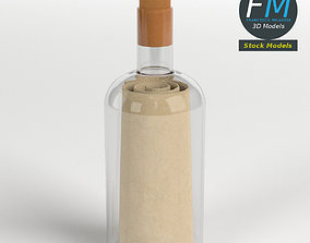 Message in a bottle 2 3D