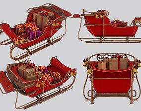 shopping 3D model sleigh