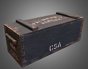 3D model Civil War Crate