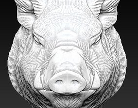 boar wild pig 3D printable model