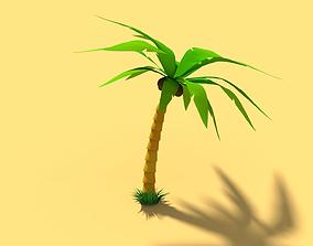 Palm Tree 3D model rigged