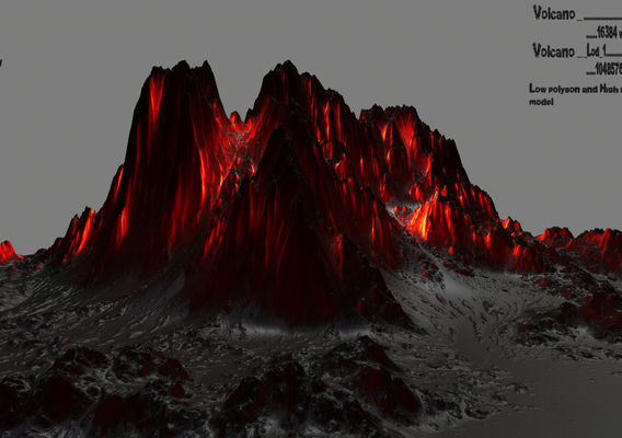 lava mountain