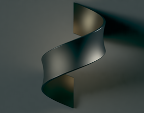 3D wall mount luminaire