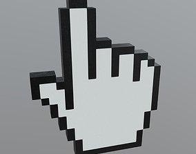 3D model Cursor Hand