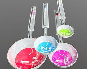 3D asset Measuring Spoons