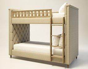 3D model Twins Bunk Bed