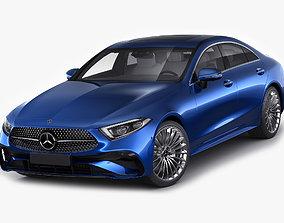 Mercedes-Benz CLS 2022 AMG line 3D model