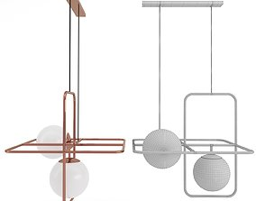 3D Suspension lamp LINK III Mambo Unlimited Ideas factory
