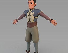 3D model Cartoon Prince 01