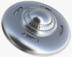 flying UFO Flying Saucer 3D model