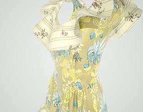 3D model Women s Dress